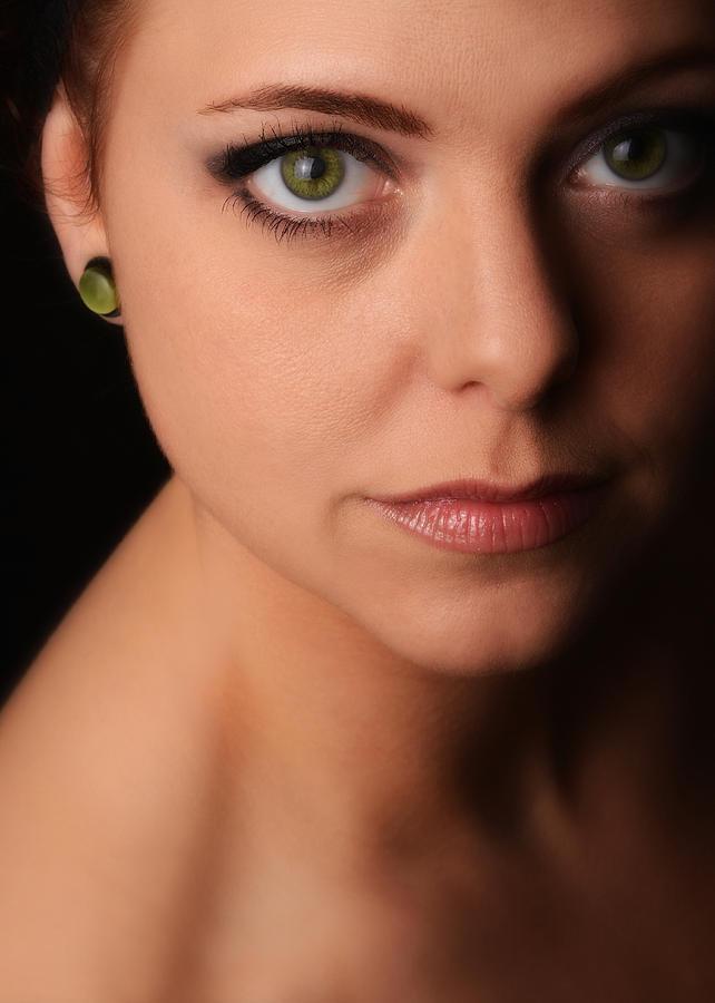 Portrait Photograph - Claudias Elegance by Dennis James
