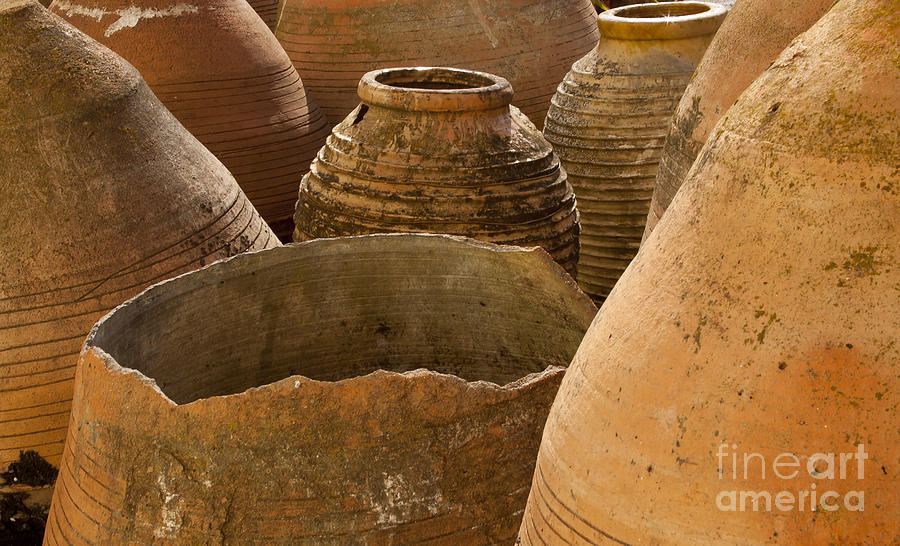 Clay Photograph - Clay Pots   #7811 by J L Woody Wooden