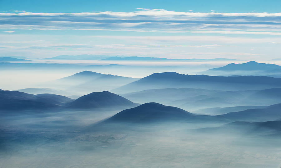 Layers Photograph - Clean Air by Ivo Vuk