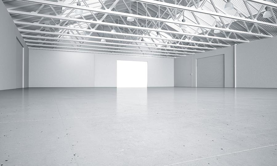 Astounding Clean Bright Warehouse Car Showroom 3D Rendering Download Free Architecture Designs Scobabritishbridgeorg