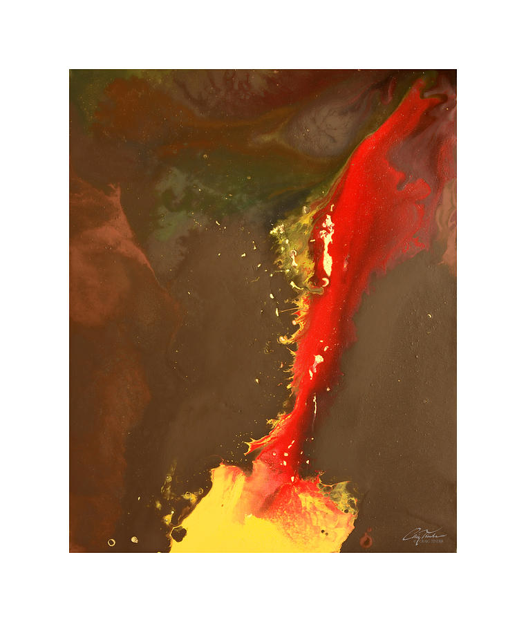 Abstract Painting - Clean Cut by Craig Tinder