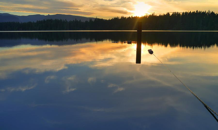 Clear Lake Sunset by Peter Mooyman