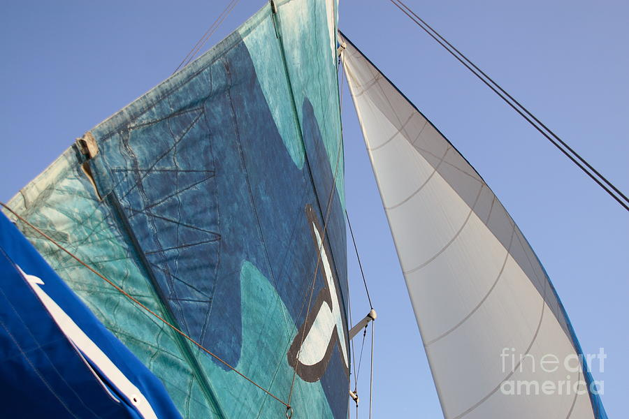Hawaii Photograph - Clear Skies And Full Sails by Jennifer Apffel