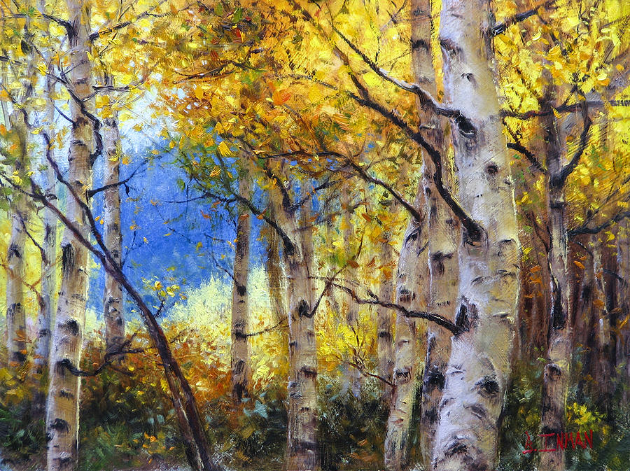 Beautiful Painting - Clear Skies by Bill Inman