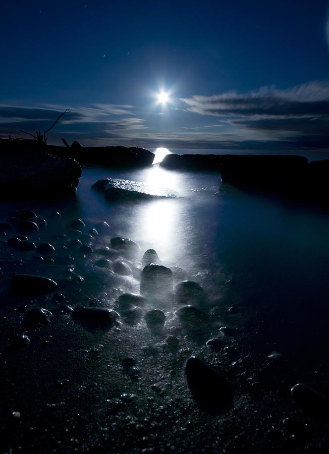 Clearville Moonrise Photograph