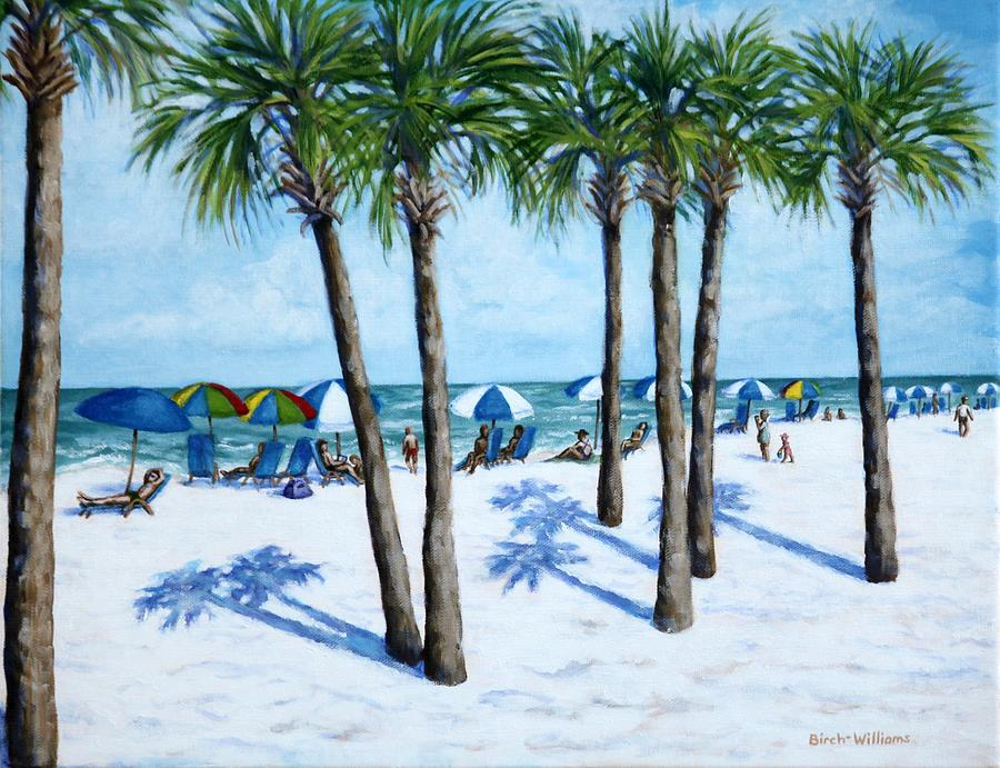 Clearwater Beach Painting - Clearwater Beach Morning by Penny Birch-Williams