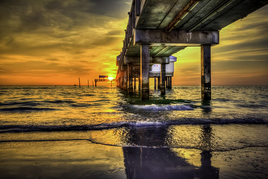 Clearwater Pier Photograph - Clearwater Pier by Marvin Spates