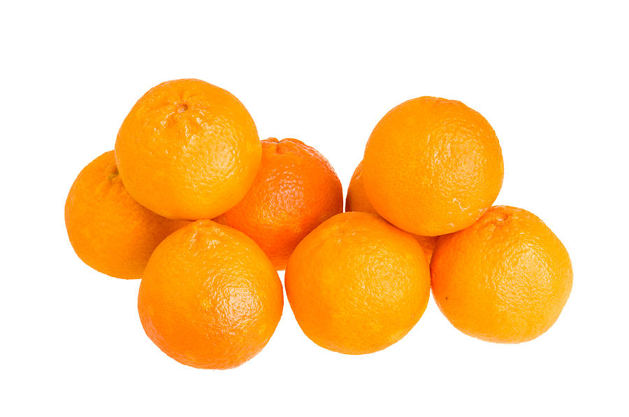 Food Photograph - Clementine Oranges by John Trax