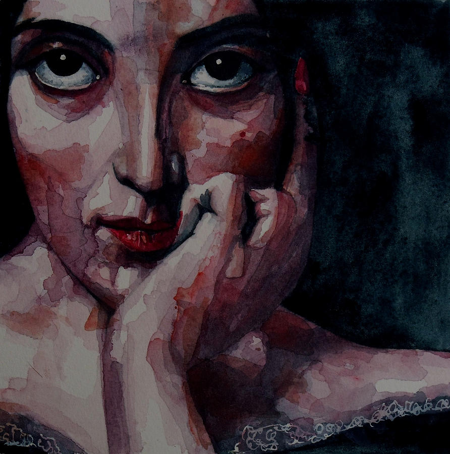 Portrait Painting - Clementine by Paul Lovering