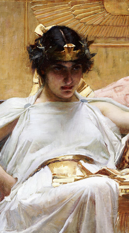 Cleopatra Painting - Cleopatra by John William Waterhouse