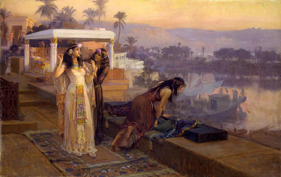Derecho laboral. - Página 8 Cleopatra-on-the-terraces-of-philae-frederick-arthur-bridgman