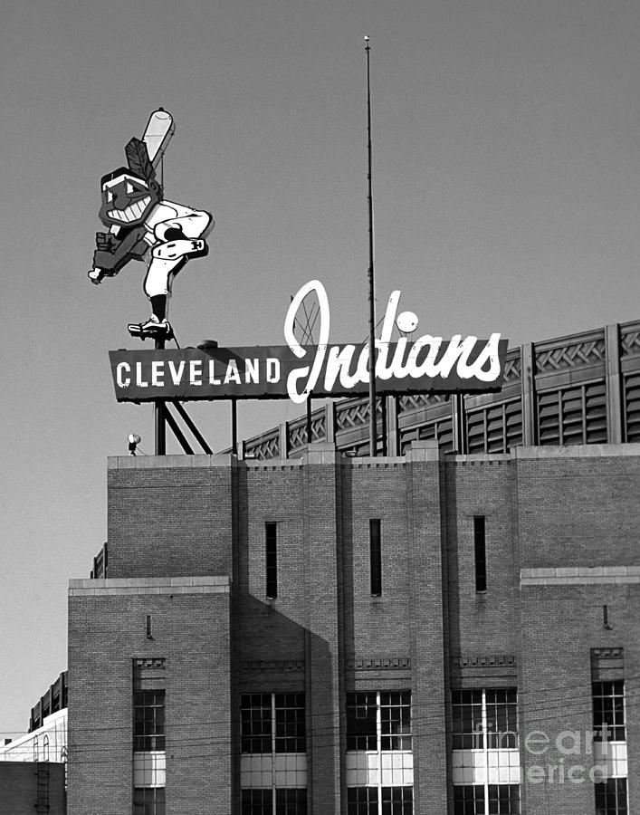 Cleveland Indians Photograph - Cleveland Indians Wahoo by James Baron