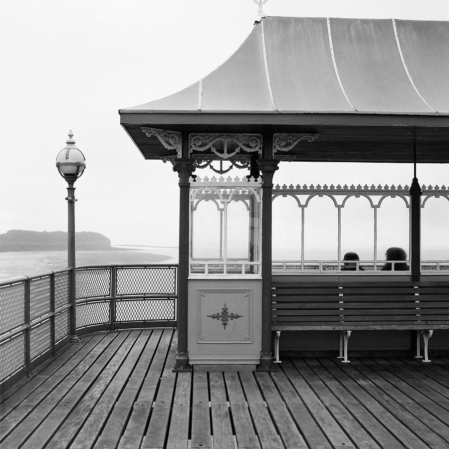 Uk Photograph - Clevedon Pier Somerset by Christopher Rees