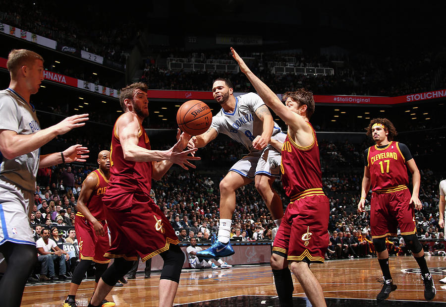 Cleveland Cavaliers V Brooklyn Nets Photograph by Nba Photos