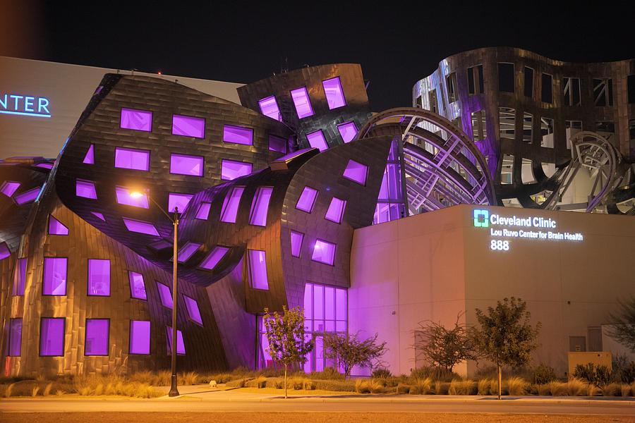 Las Vegas Photograph - Cleveland Clinic Las Vegas #2 by Daniel Furon