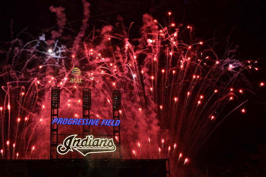 Cleveland Photograph - Cleveland Indians by Frozen in Time Fine Art Photography