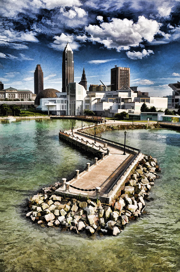 Cleveland Inner Harbor - Cleveland Ohio - 1 by Mark Madere