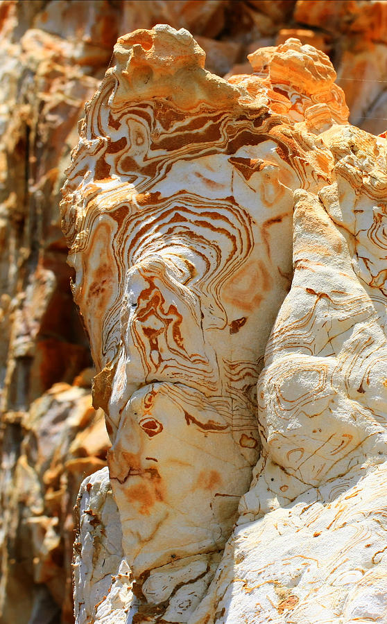 Cliff Photograph - Cliff Face by Tap On Photo