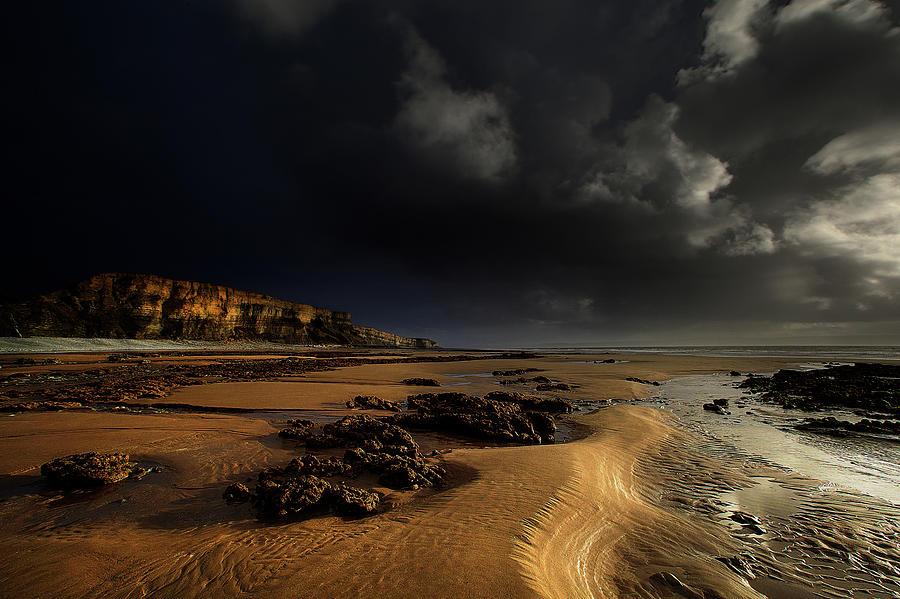 Cliff Face Traeth Mawr Photograph by Unique Landscape Images