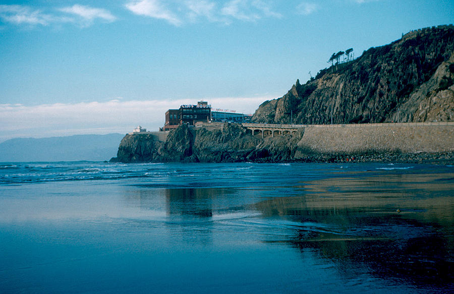 San Francisco Photograph - Cliff House 1956 by Cumberland Warden