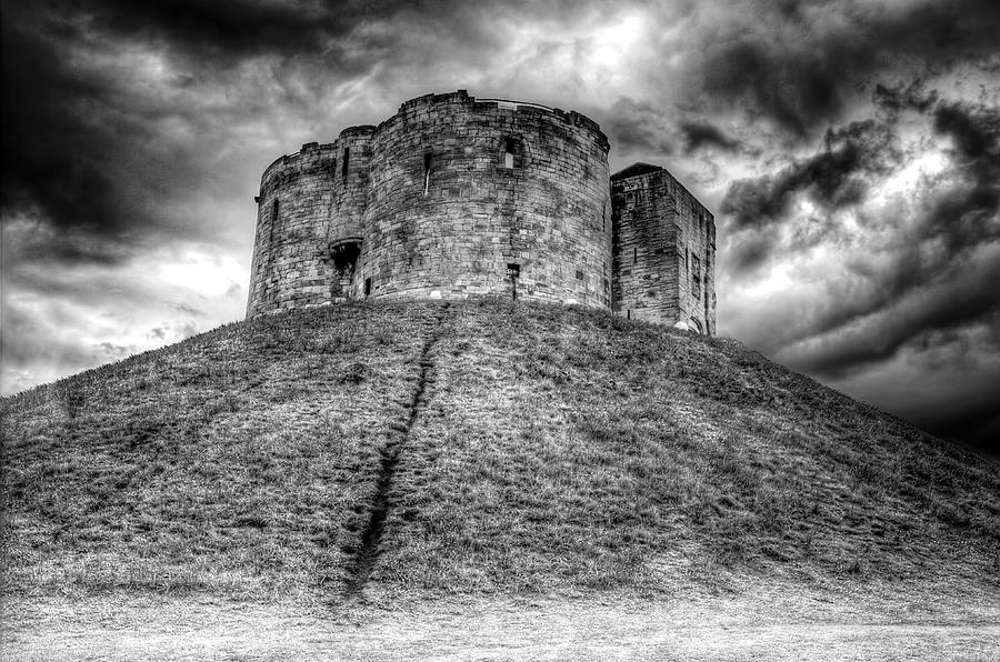 York Photograph - Cliffords Tower by Ross G Strachan