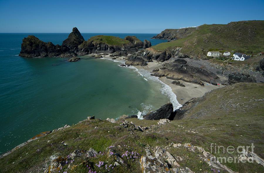 Outdoors Photograph - Cliffs In Bretagne by Jaroslaw Blaminsky