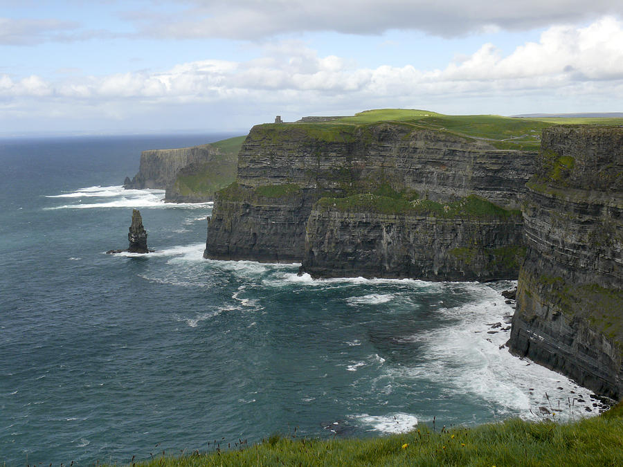 Ireland Photograph - Cliffs Of Moher 3 by Mike McGlothlen