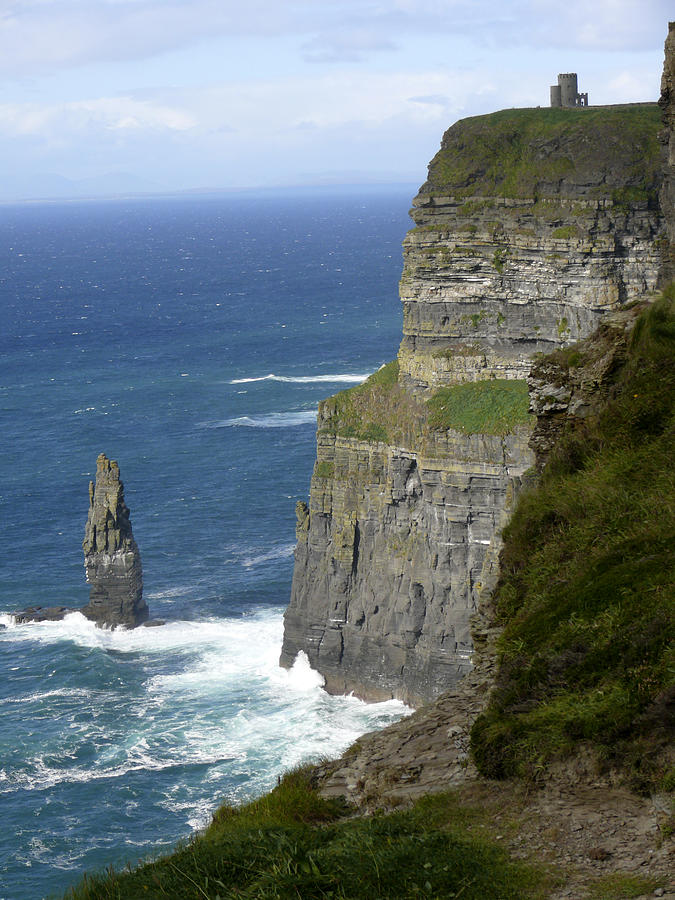 Travel Photograph - Cliffs Of Moher 7 by Mike McGlothlen