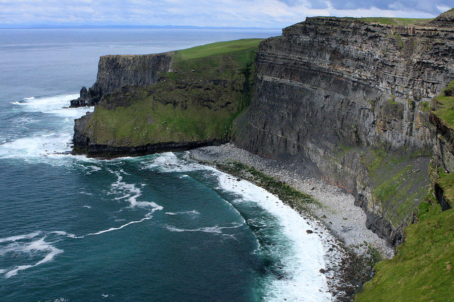Ireland Photograph - Cliffs Of Moher View by Aidan Moran