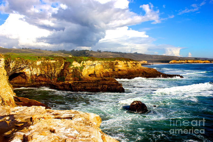 Landscape Photograph - Cliffs by Shannan Peters
