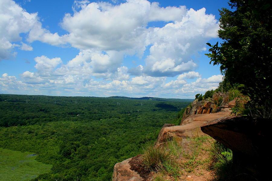 Vista Photograph - Cliffside Vista by Stephen Melcher