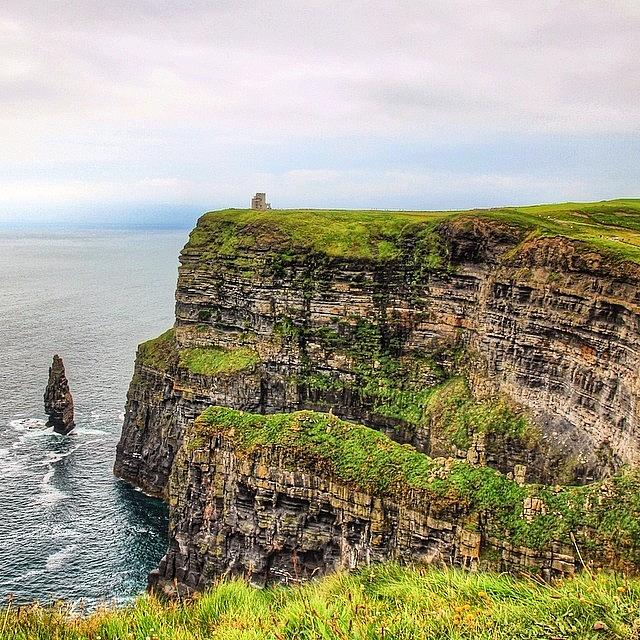 Europe Photograph - #cliffsofmoher #ireland #landscape by Luisa Azzolini