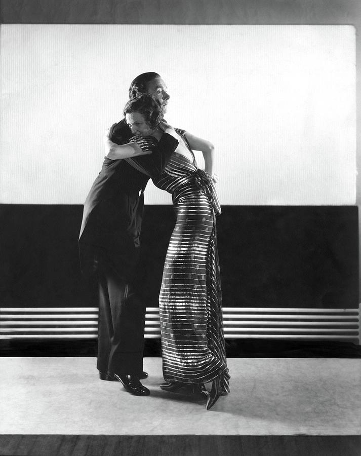Clifton Webb And Irene Castle Dancing Photograph by Edward Steichen
