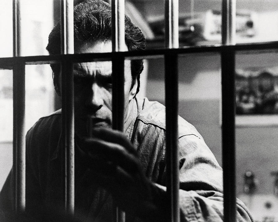 Escape From Alcatraz Photograph - Clint Eastwood In Escape From Alcatraz  by Silver Screen