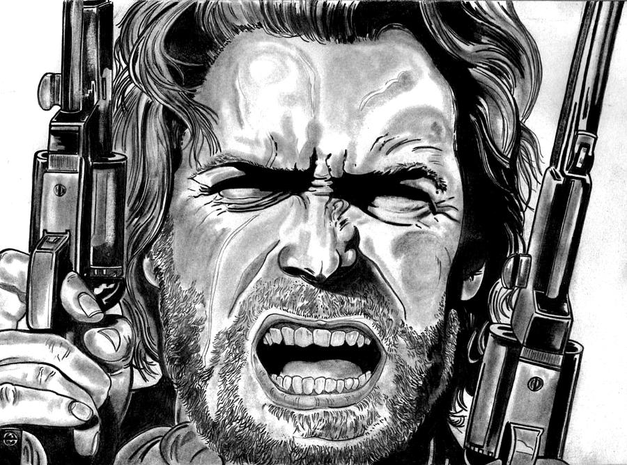 Clint Eastwood Drawing - Clint Eastwood by Ralph Harlow
