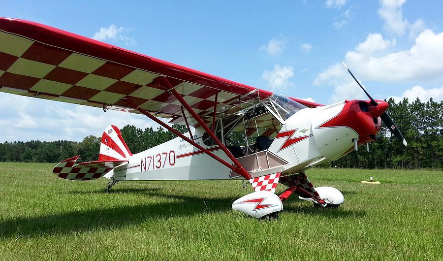 Piper J-3 Cub Photograph - Clipped Wing Cub by Matt Abrams