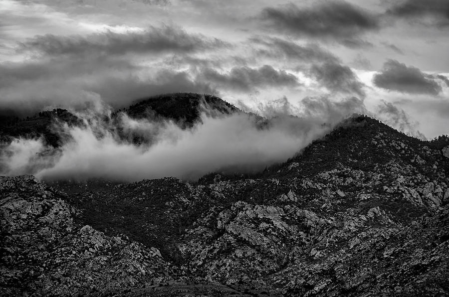 Cloaked In Clouds Photograph