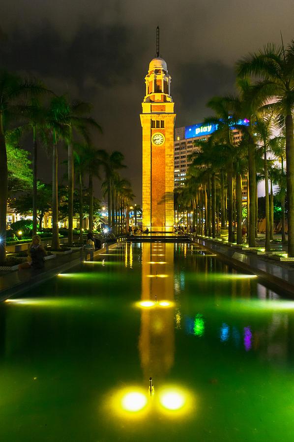 Hong Kong Photograph - Clock Tower Of Old Kowloon Station by Hisao Mogi