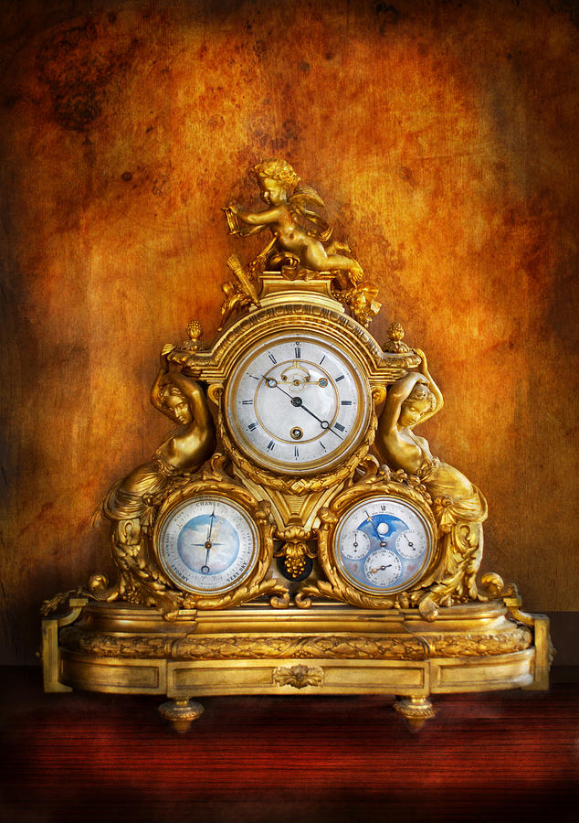 Clockmaker Photograph - Clockmaker - Anyone Have The Time by Mike Savad