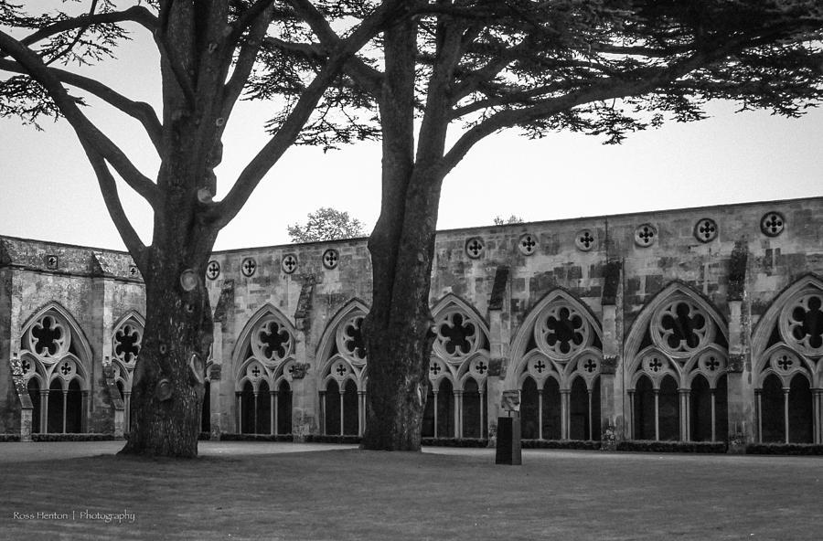 Cloisters Photograph - Cloisters Of Salisbury by Ross Henton