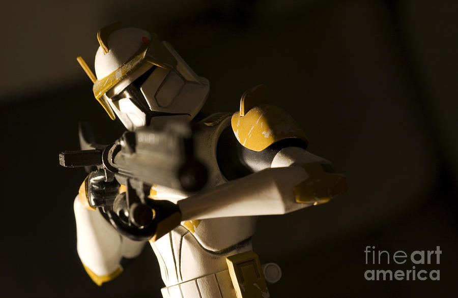 Star Wars Photograph - Clone Trooper 1 by Micah May