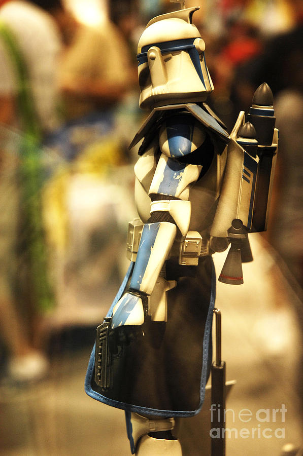 Star Wars Photograph - Clone Trooper by Micah May