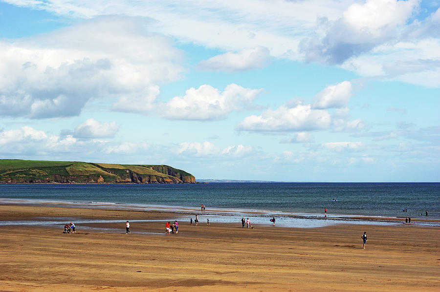 Clonea Strand, Co Waterford, Ireland Photograph by Gregoria Gregoriou Crowe Fine Art And Creative Photography.