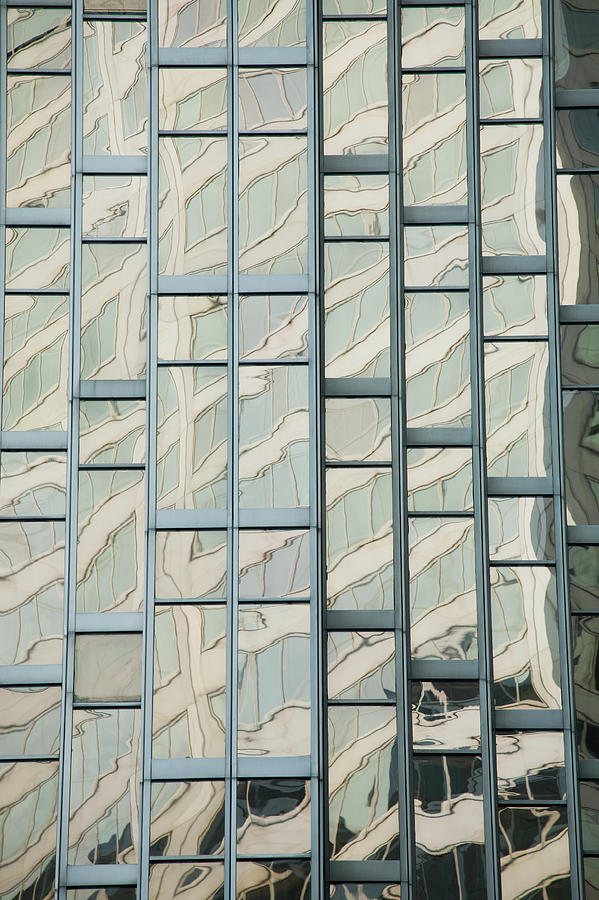 Close Up Of A Gold Glass Building Photograph by Michael Interisano / Design Pics