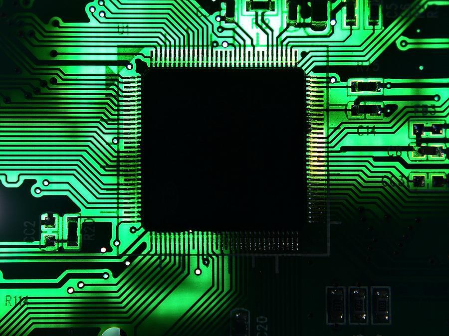 Close-up Of Circuit Board Photograph by Paul Hartmann Paludo / Eyeem