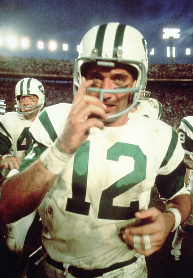Classic Photograph - Joe Namath  by Retro Images Archive