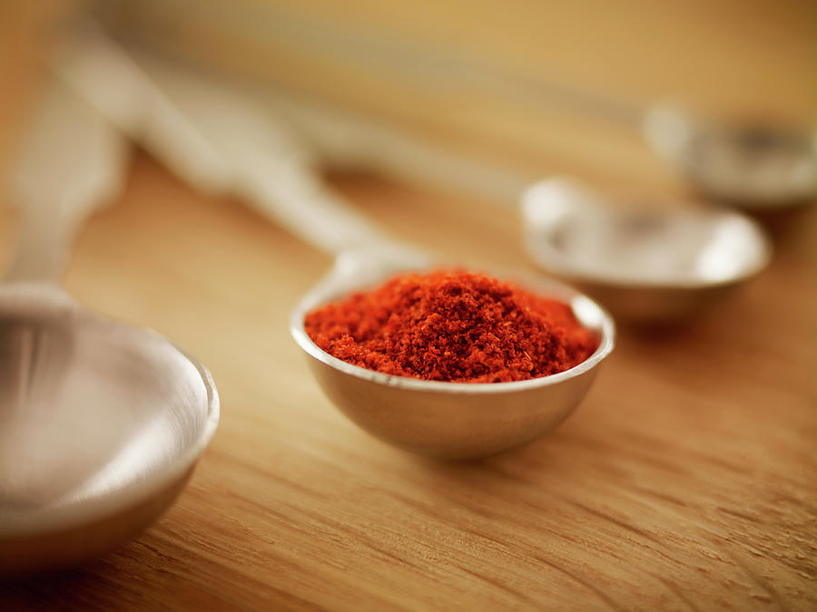 Close Up Of Spice In Measuring Spoon Photograph by Adam Gault