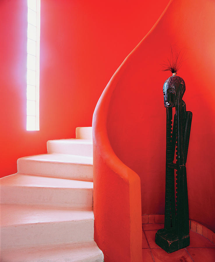 Close-up Of Staircase Photograph by Scott Frances