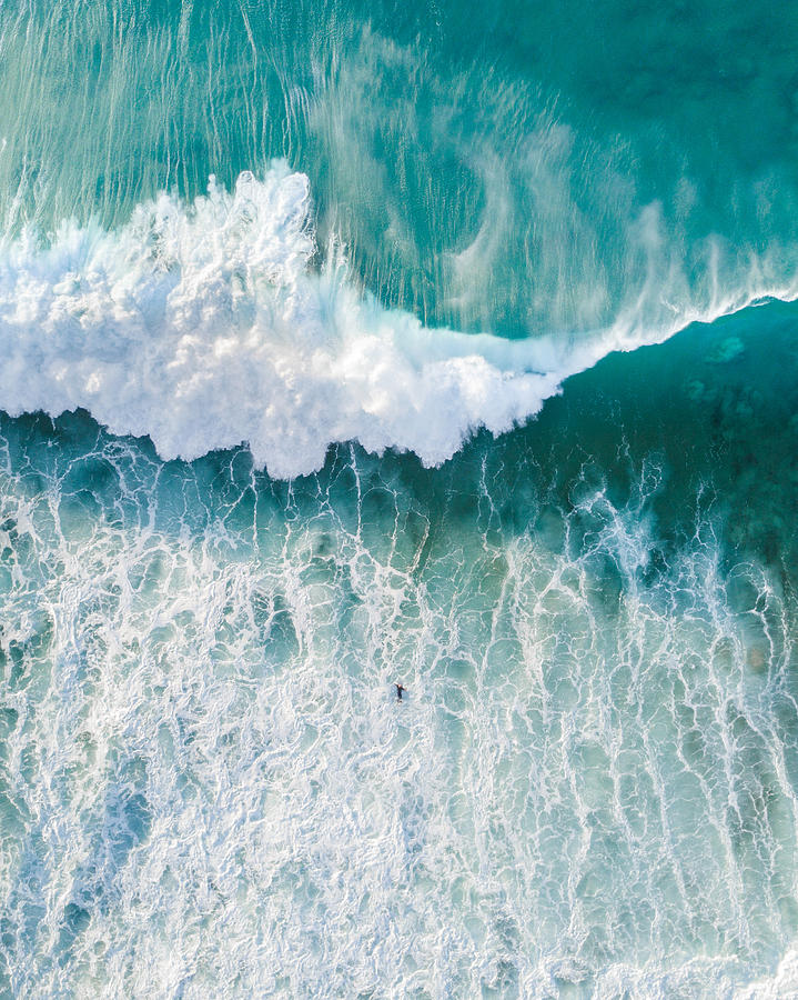 Close-up Of Wave In Sea Against Sky Photograph by Benjamin Lee / EyeEm