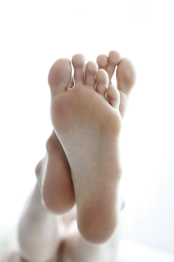 Close Up Of Woman Feet Photograph by Runstudio
